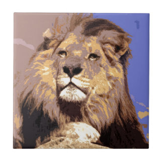 Lion Tile