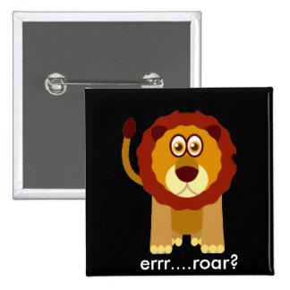Lion Toon Pins