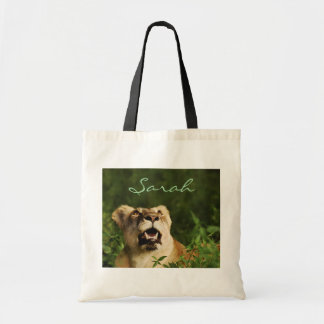 Lion tote bags - personalize