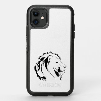 Lion Tribal 001 OtterBox Symmetry iPhone 11 Case