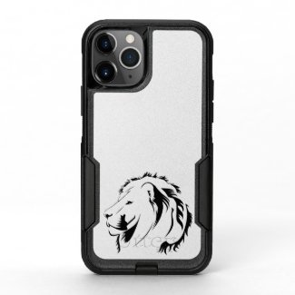 Lion Tribal 001 OtterBox Commuter iPhone 11 Pro Case