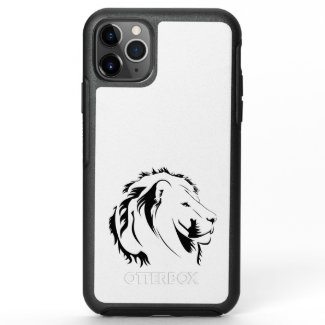 Lion Tribal 001 OtterBox Symmetry iPhone 11 Pro Max Case