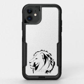 Lion Tribal 001 OtterBox Commuter iPhone 11 Case