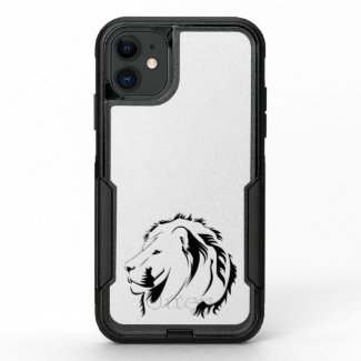 Lion Tribal 001 OtterBox Commuter iPhone 11 Case