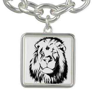Lion Tribal 002 Bracelets