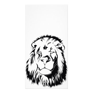 Lion Tribal 002 Card