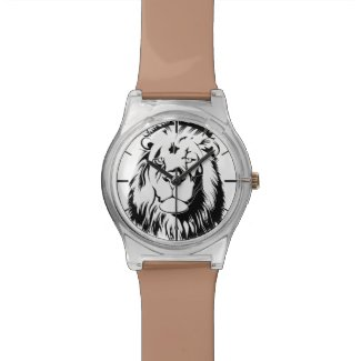 Lion Tribal 002 Wrist Watch