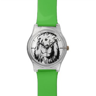 Lion Tribal 002 Wristwatch