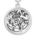 Lion tribal tattoo custom jewelry