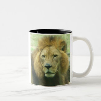 Lion Two-Tone Mug