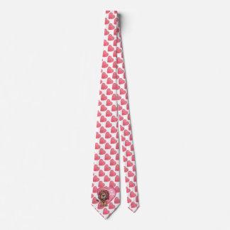 Lion Valentine's Day Tie
