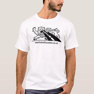 Lion w/Lightning Bolts { black } T-Shirt