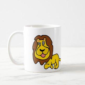 Lion Walk Coffee Mug