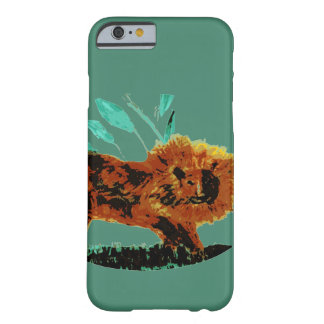 Lion Wild Animal Art Barely There iPhone 6 Case