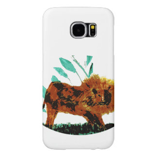 Lion Wild Animal Art Samsung Galaxy S6 Case
