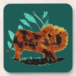 Lion Wild Animal illustration Coaster