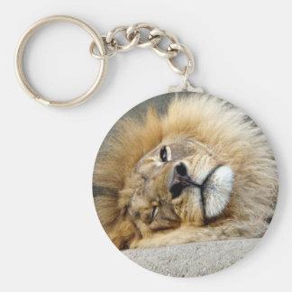 Lion Wink Keychain