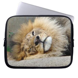 Lion Wink Laptop Sleeve