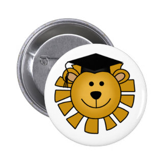 Lion with Graduation Cap Tshirts and Gifts Pins