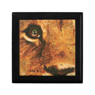 Lion with Rainbow in Eye Gift Box
