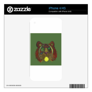 Lion with tennis ball skin for the iPhone 4S