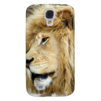 Lion with Thick Mane iPhone 3G Case Galaxy S4 Cases