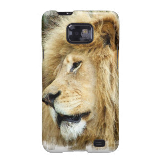 Lion with Thick Mane Samsung Galaxy Case Galaxy SII Cover