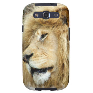 Lion with Thick Mane Samsung Galaxy Case Galaxy SIII Cover