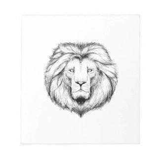 Lion write note block