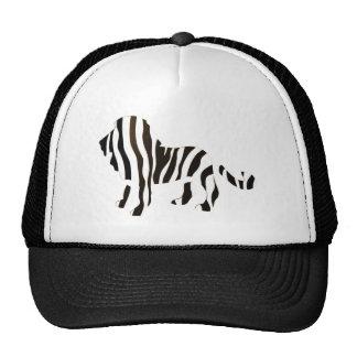 Lion Zebra Mash Up Trucker Hats