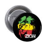 Lion Zion Button