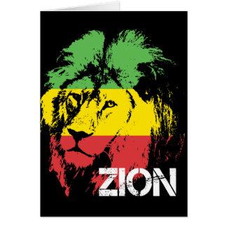 Lion Zion Card