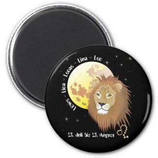 Lion - zodiac magnet