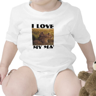 lionandbaby, i love, my Ma' T Shirt