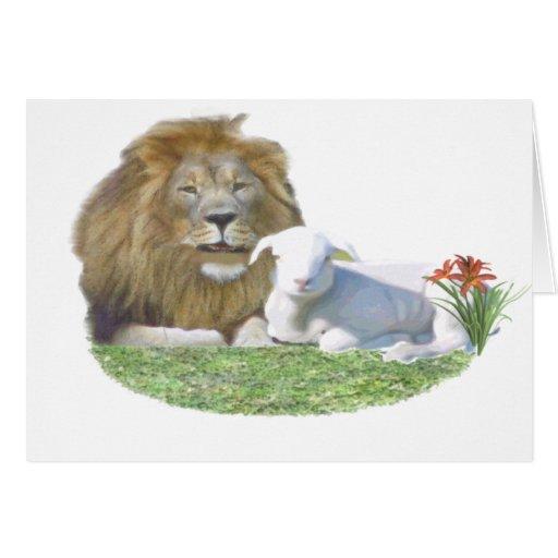 lionandlamb greeting cards