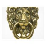 LionDoorKnocker072509 Invitación