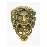 LionDoorKnocker072509 Membrete A Diseño