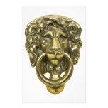 LionDoorKnocker072509 Papelería De Diseño