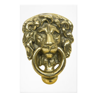 LionDoorKnocker072509 Stationery