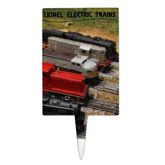 Lionel Trains Cake Topper