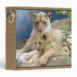 Lioness and Cub Binder