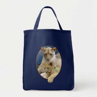 Lioness and Cub Tote Bag 2