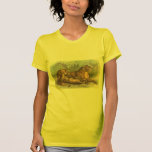 Lioness and Cubs, Felis leo T Shirts