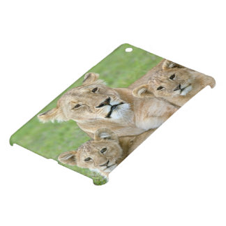 Lioness and Two Cubs, East Africa, Tanzania, iPad Mini Cases