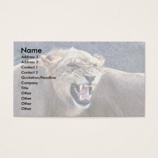Lioness Business Card