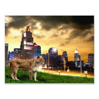 Lioness in the City Invitations