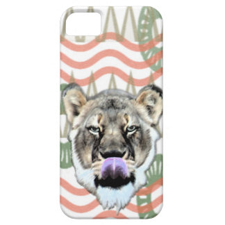 Lioness Lick Lips iPhone SE/5/5s Case
