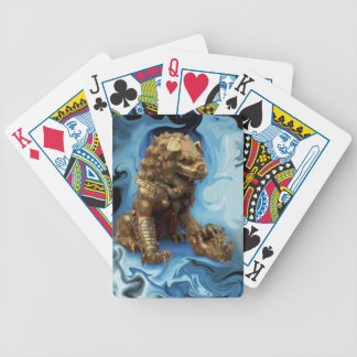 Lioness Loyalty Lucky Leo horoscope chinese lion Bicycle Playing Cards