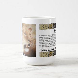 Lioness on her Kill Classic White Coffee Mug
