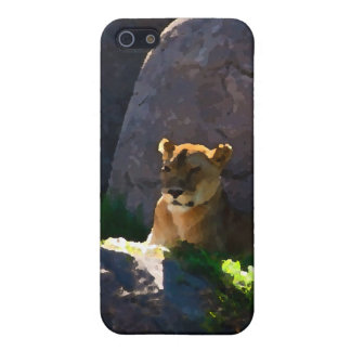 Lioness on the Mount iPhone 5 Case